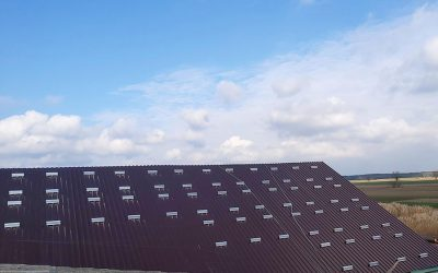 Instalacja fotowoltaiczna na pokryciu dachowym – blacha trapezowa